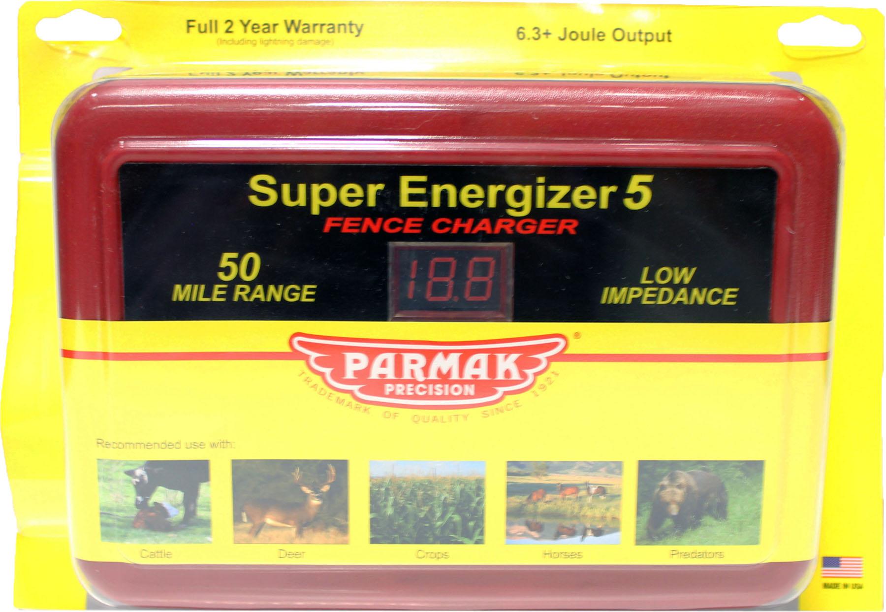 parmak super energizer5 fence charger