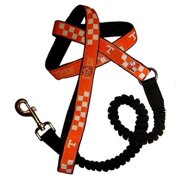 Tennessee Vols Bungee Ribbon Pet Leash