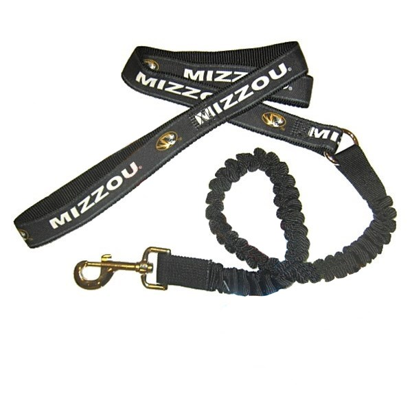Missouri Tigers Bungee Ribbon Pet Leash