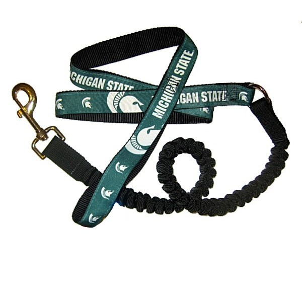 Michigan State Spartans Bungee Ribbon Pet Leash