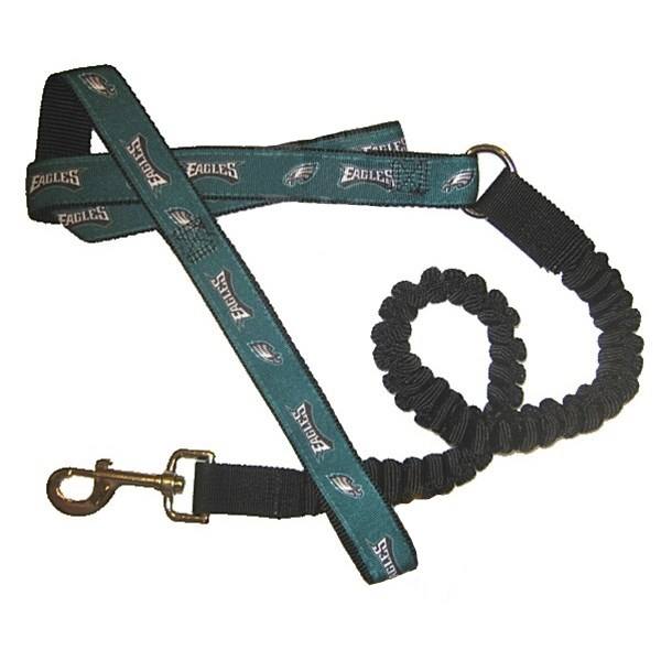 Philadelphia Eagles Bungee Ribbon Pet Leash