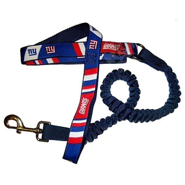 New York Giants Bungee Ribbon Pet Leash